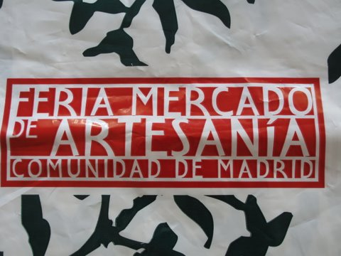 a bag from the Feria Mercado de Artesanía