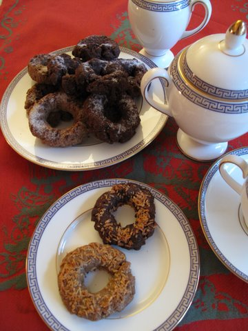 Rosquillas with tea