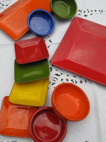 cerámica de barro in color