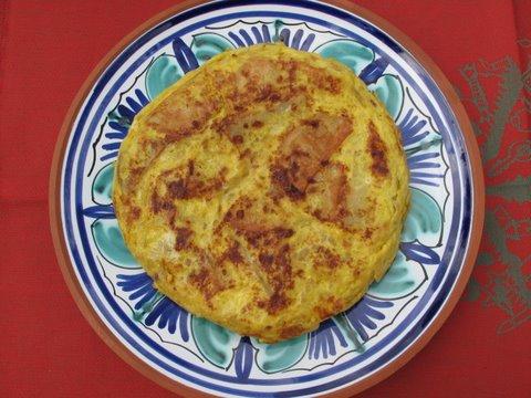 tortilla de patata, Spanish omelet