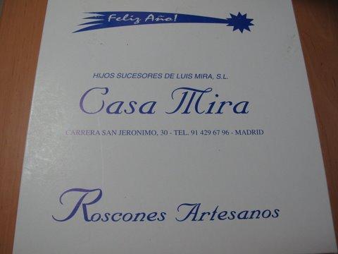 a box from Casa Mira