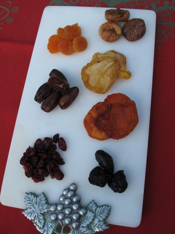 dried fruits for compote