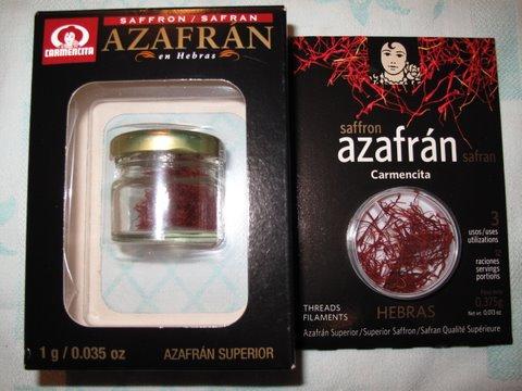 saffron, azafrán