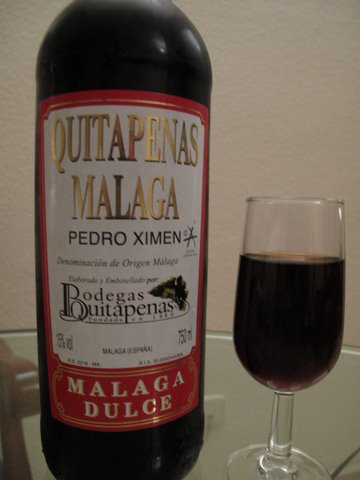 Sweet Malaga wine: a perfect match for rosquillas