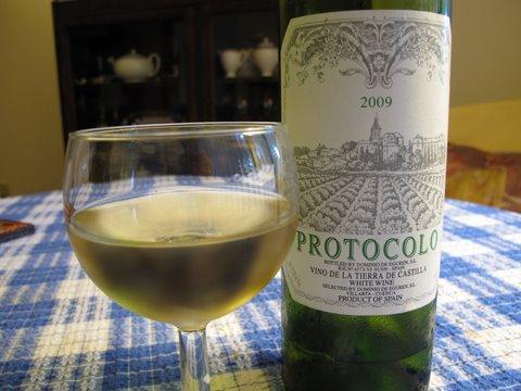 Protocolo: a white Vino de la Tierra de Castilla