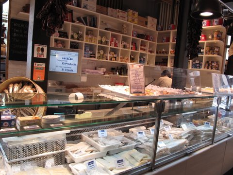 Salt Cod--bacalao--in the Mercado de San Miguel