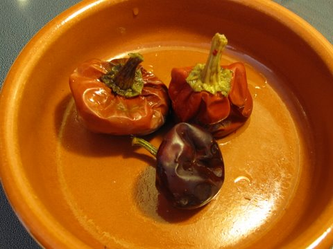 reconstituted ñora peppers