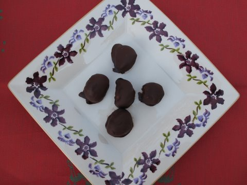 chocolate covered chestnuts