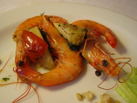 whole roasted shrimp