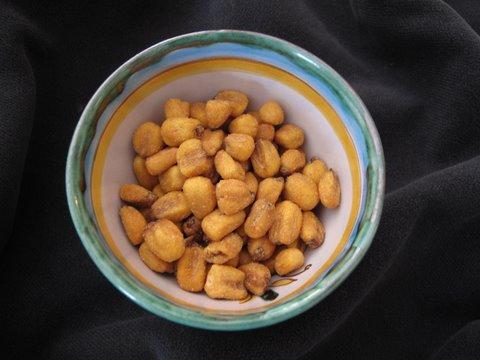 toasted corn, kikos, from a tienda de frutos secos