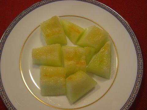 piel de sapo melon for dessert