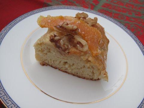 a piece of roscon de Reyes